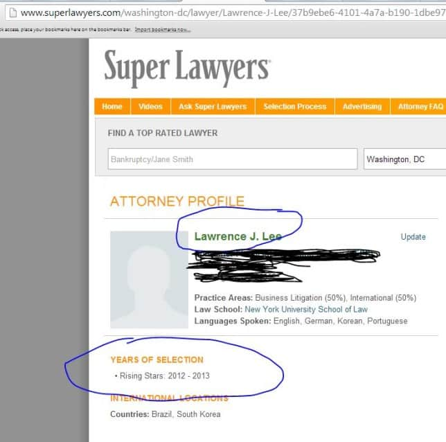 superlawyer picture